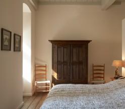 Slaapkamer platte toren | Kasteel Café Heeren Dubbel